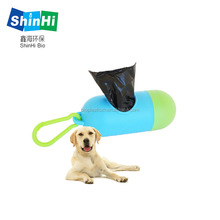 manufacturers pet product 100% biodegradable plastic dog poo bags
