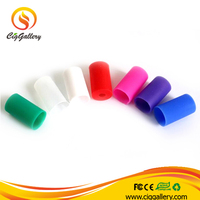 Electronic Cigarette 510 silicone driiptip covers soft disposable drip tip covers ego