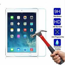 New Arrival 0.26 mm 9H Tempered Glass For iPad 5/6 iPad pro 9.7 inches Screen Protector Glass Film For iPad Air 1/2