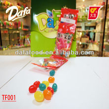 Dafa halal vitamin c soft fruit gummy jelly bean candy