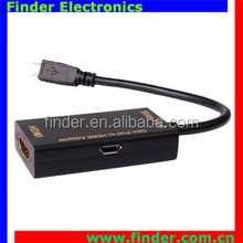 Wholesaler Slimport to HDMI Female Converter Support FULL HD 1080P 60HZ 3D output