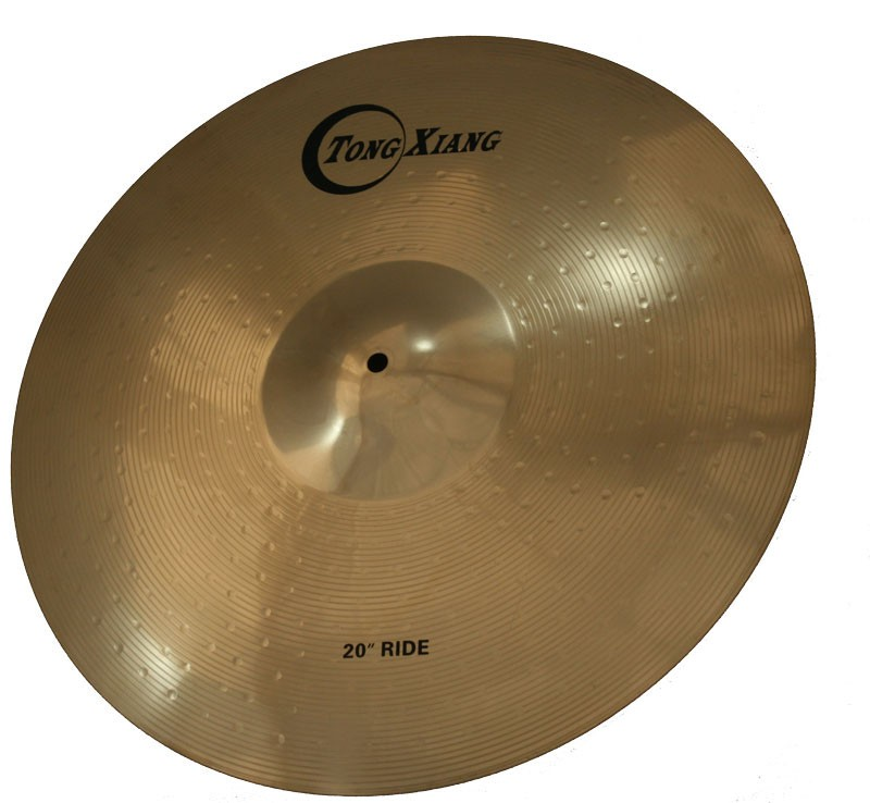 Hot selling TD manual Ride cymbal 18ride high quality for sale
