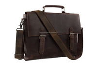 Western Style Quality Leather Briefcase