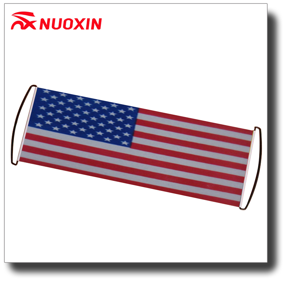 NX FLAG hot sale party promotional American hand held roll banner