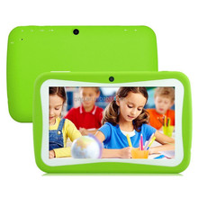 Children favorites gifts 7 Inch Kids Tablets pc with WiFi Quad core Dual Camera 8GB