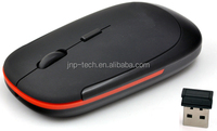 Cheap Flat Thin 2.4Ghz Mouse Wireless