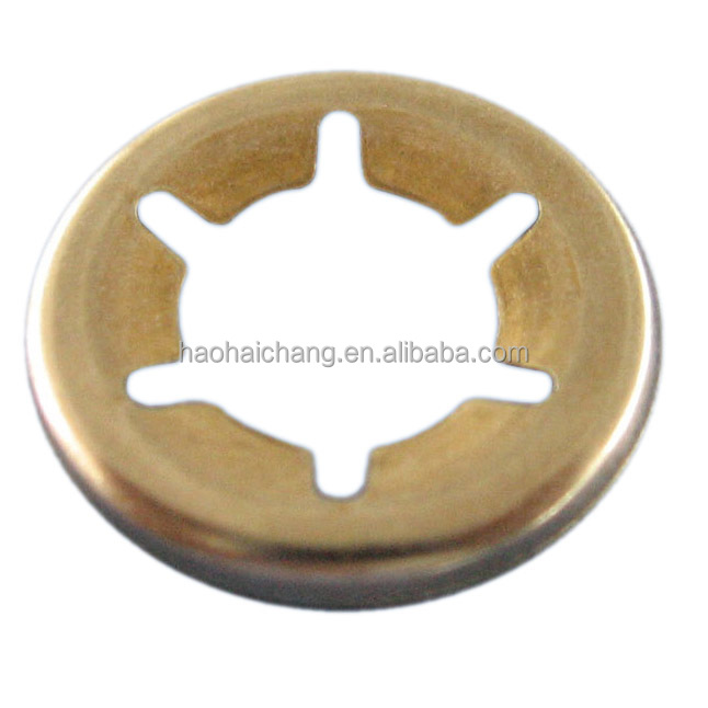 High precision brass lock ring, customized design is welcomed