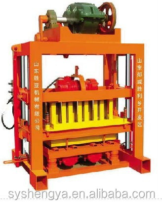 QTJ4-40 concrete block making machine,maquina de bloco de concreto