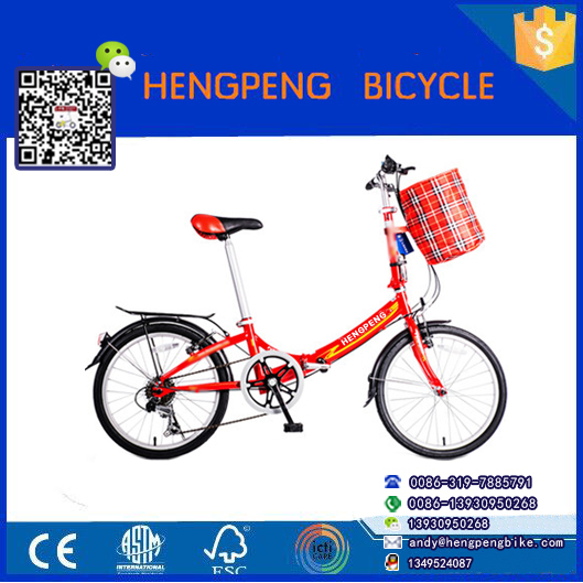 china wholesale aluminium folding bike disc brake/20 inch folding bike