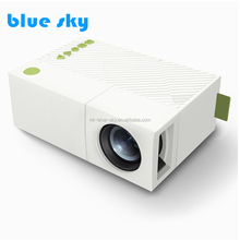 YG310 2017 Factory Price Pocket Mini Projector For TV 1080P Portable Mini LCD Projector