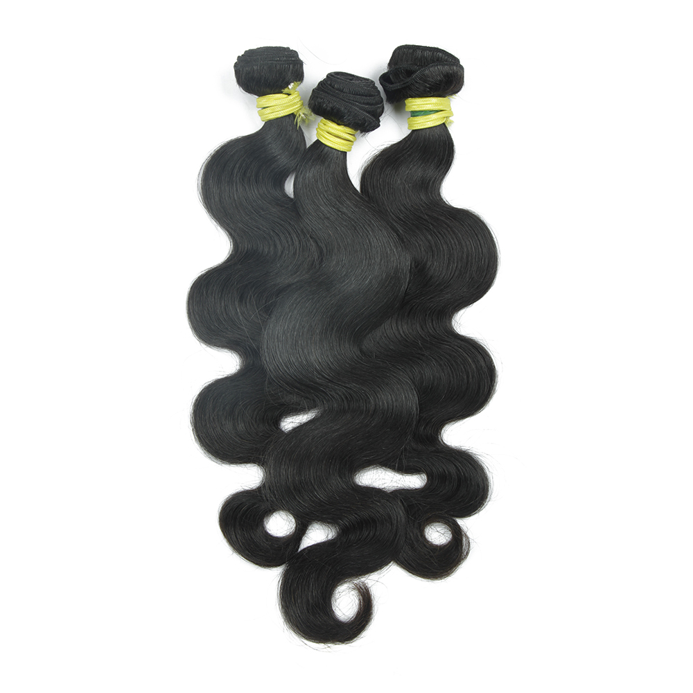 7A Grade Chemical Free human cambodian weave hair extension weaving best