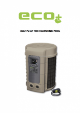 Eco hot sale hot tubs extra heat pump,heat pump for jacuzzi and spas pompe chaleur