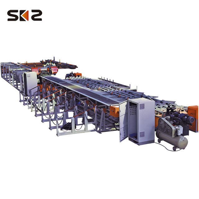Rebar thread rolling machine threaded rods making machine