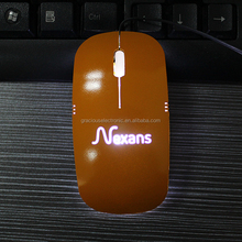 Hot selling type 3d optical mouse with light up logo