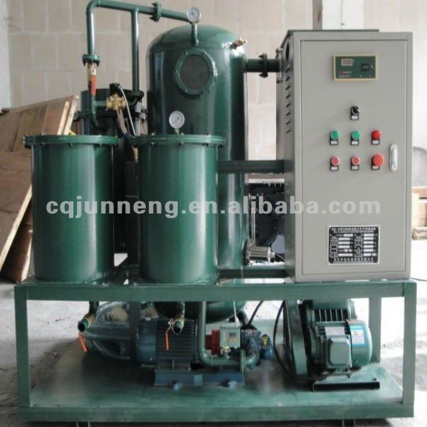 Used Hydraulic Oil Decolorization/Waste lube oil Recycling system,oil filtration machine