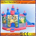 Kids play equipment small inflatable bouncer slide