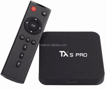 HOT Selling Economic Tx5 pro 2GB/16GB Smart Tv Box Quad Core Google H.265 Bluetooth Amlogic S905X Android 6.0 wifi Tv Box