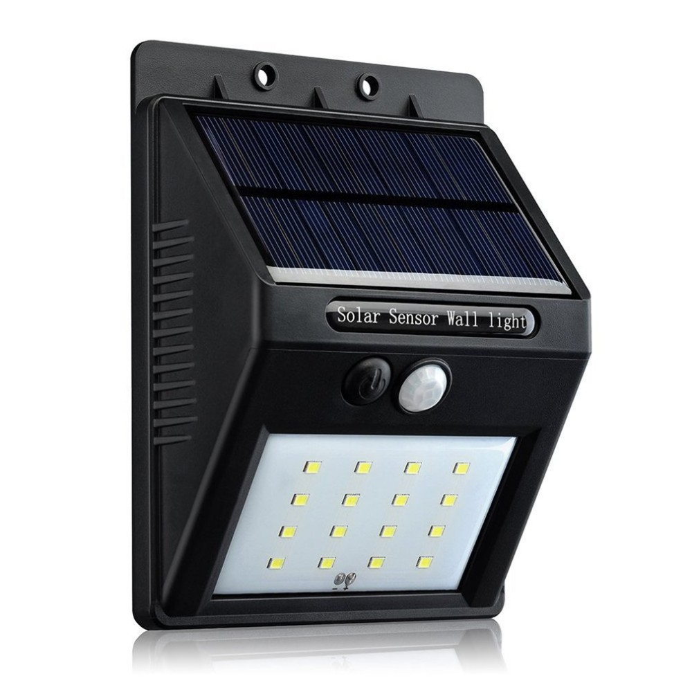Fba amazon 2016 newest design high lumen all in one garden - Focos solares amazon ...