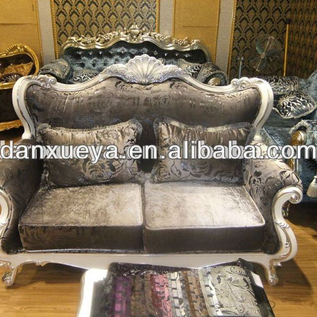 Hand Antique European Style Sofa U0026 Elegant Solid Wood Antique Curved Sofa  Set