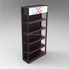 Modern Design store display rack for supermarket shelf cosmetic