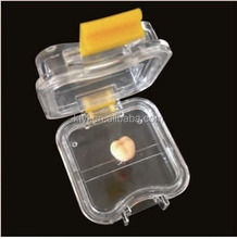 Dental membrane box plastic crown box with film teeth storage box