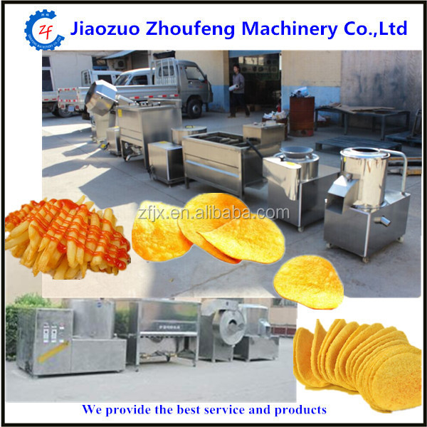 semi-automatic potato chips making machine from China manufacturer (skype:sophiezf3)