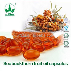 GMP Approved Seabuckthorn Fruit Oil Seabuckthorn Seed Oil Softgel Capsule Hypolipidemic Capsule Anticancer softgels