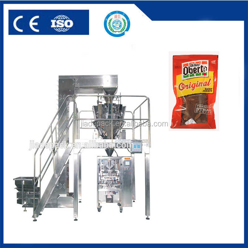 Weighing Beef Jerky Packaging Machine