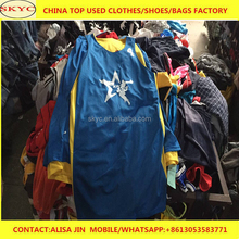 2018 popular used casual sport wear high quality used cloth importer in karachi