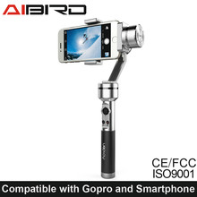 Aluminum Alloy Handheld Gimbal uoplay stabilizer for smartphone and action camera