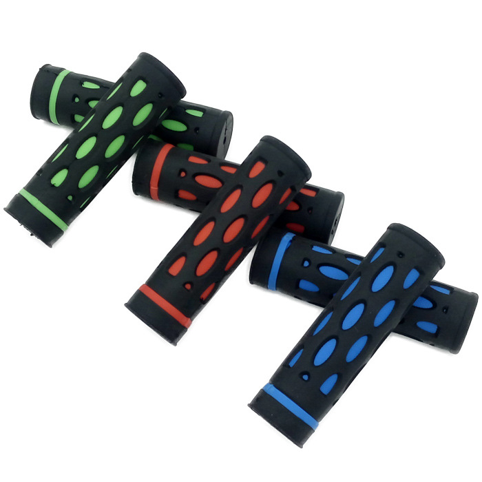 Colorful China Custom Made Rubber Bicycle Handlebar Grip Wear Resistance Skid Prevention