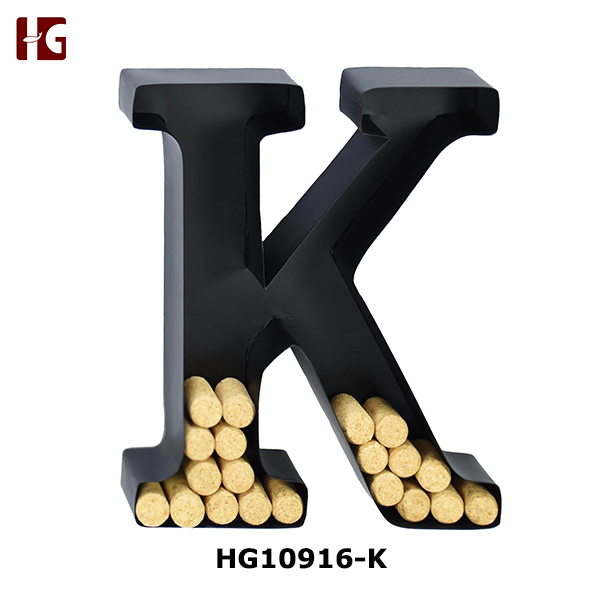 Metal Wall Mounted Letter Cork Holder