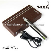 new arrival exclusive adjustable voltage ego v3 battery e cigarette mod torpedo