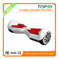 China supplier 6.5'' two wheels self balancing hoverboard with bluetooth speaker