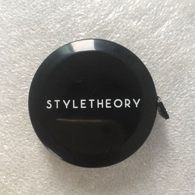 Custom Logo Black Tape Measure with or without Keychain Wholesale