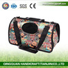 BSCI QingQ Factory pet dog bag carrier for small dogs handbag pet car & motorcycle carriers