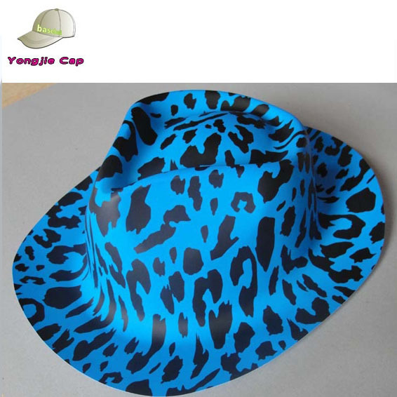 Printed Colorful Baby Plastic Cowboy Hat For New Year bf49d41fa999