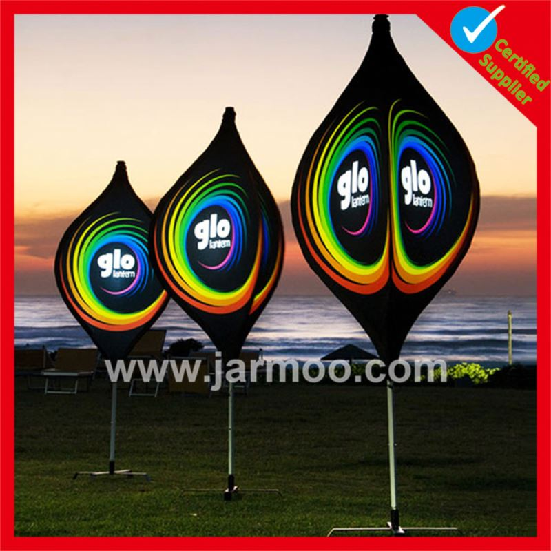 Small moq outdoor Hot sell fabric printed lantern flags