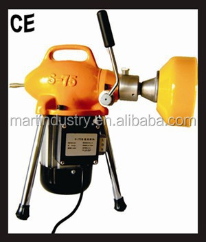 pipe work tool D20-100mm electric drain cleaning equipment S75