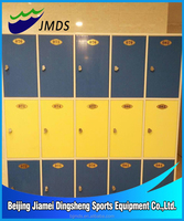 Beijing Factory wholesale 3 Cell Plastic Locker Pool Changing Room
