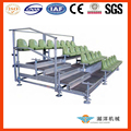 environmental demountable steel grandstand with scaffolding structure OEM