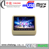 Chelong Big Discount 9 inch New Digital LCD high quality 9 inch car audio headrest lcd dvd player