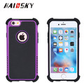 HAISSKY TPU+PC 3in1 Shockproof Soft case color full design for Iphone 7