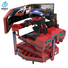 Racing and flight game Jingmin 360 degree roating platform flouting racing car simulator