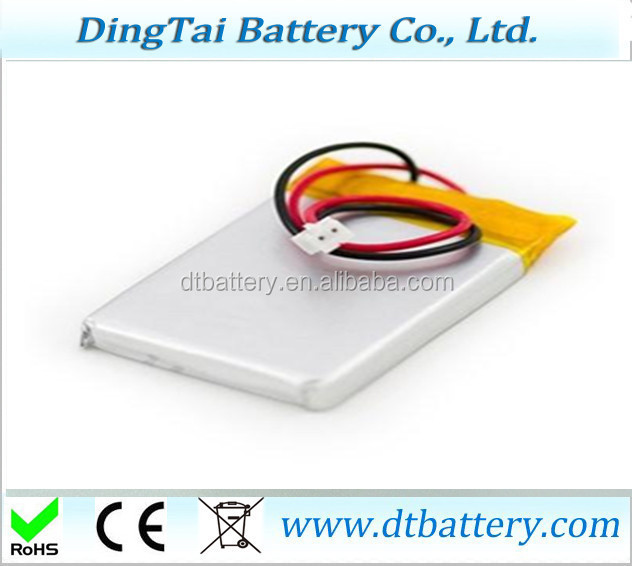 802535 3.7v 600mah rechargeable li-ion battery li polymer battery for Digital Domain: Bluetooth headset, Bluetooth keyboard