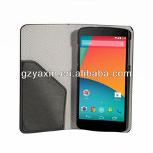 2014 leather flip case for lg nexus 5 e980,holster phone mobile case for lg nexus 5