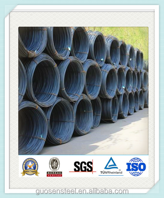 sae 1008 6.5 mm /wire rod steel coil /hot rolled steel wire rod