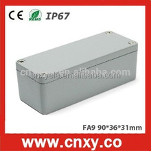 Dia Cast Aluminium Extrusion Enclosure / Box For Electronic