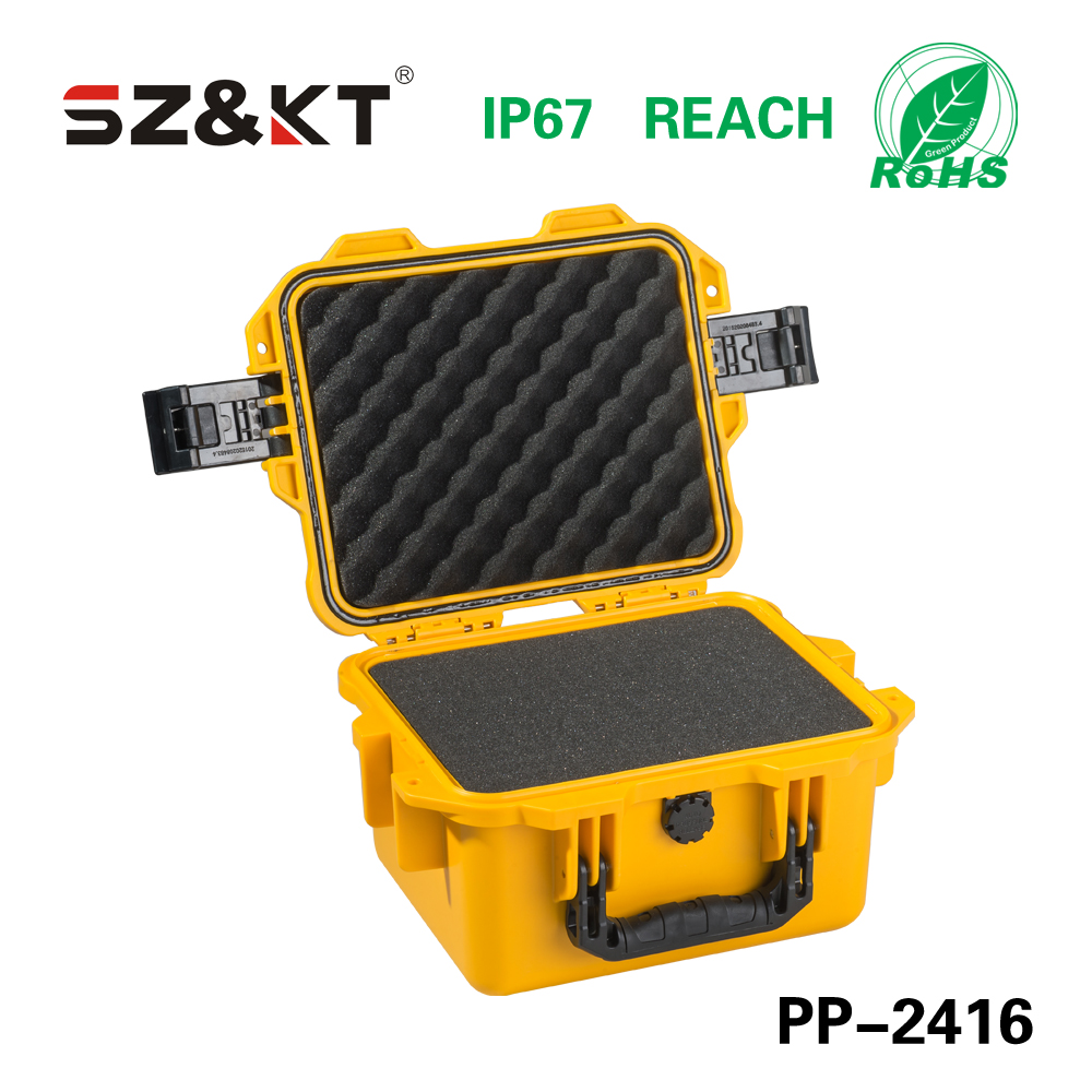PP Plastic Waterproof Dustproof Shockproof Equipment Case