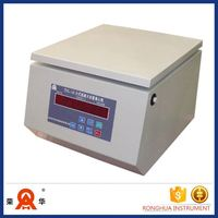 Table Top High Speed Large Volume Centrifuge Dental Gf75 Biodiesel Lab Equipment Centrifuge